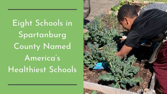 Eight Schools in Spartanburg County Named America's Healthiest Schools