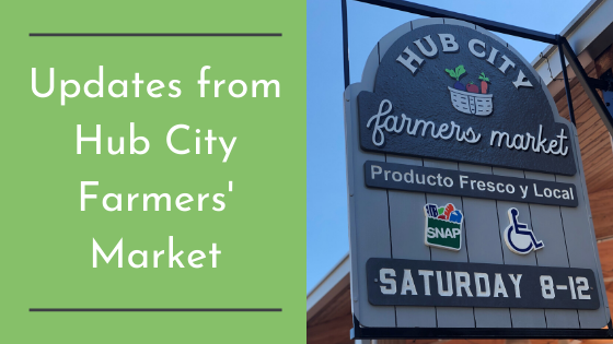Updates from Hub City Farmers' Market