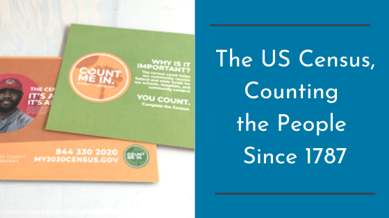 The US Census, Counting the People Since 1787