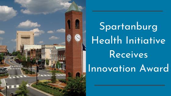 Spartanburg Health Initiative Receives Innovation Award